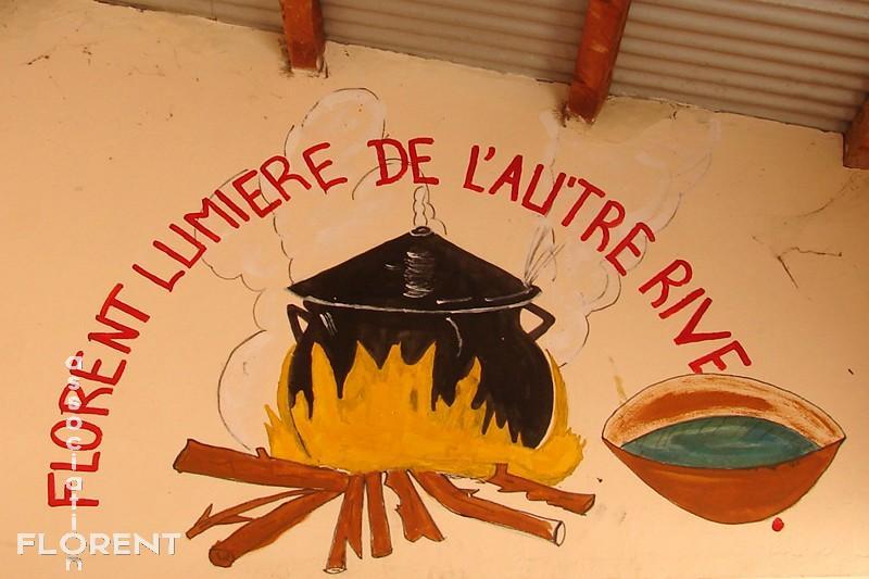 Logo peint par les moniteurs