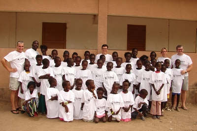 Les enfants parrainés de Foua-Loul