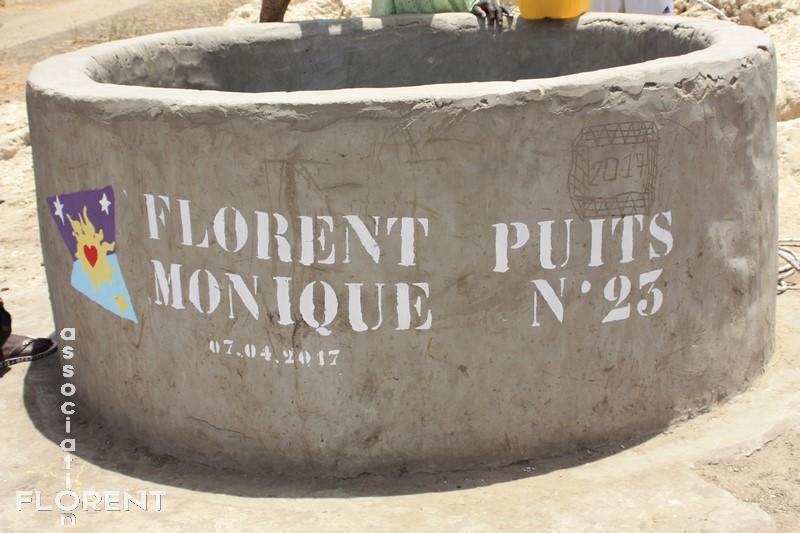 Le puits MONIQUE à FOUA-TAKH