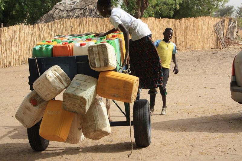 Livraison d'eau